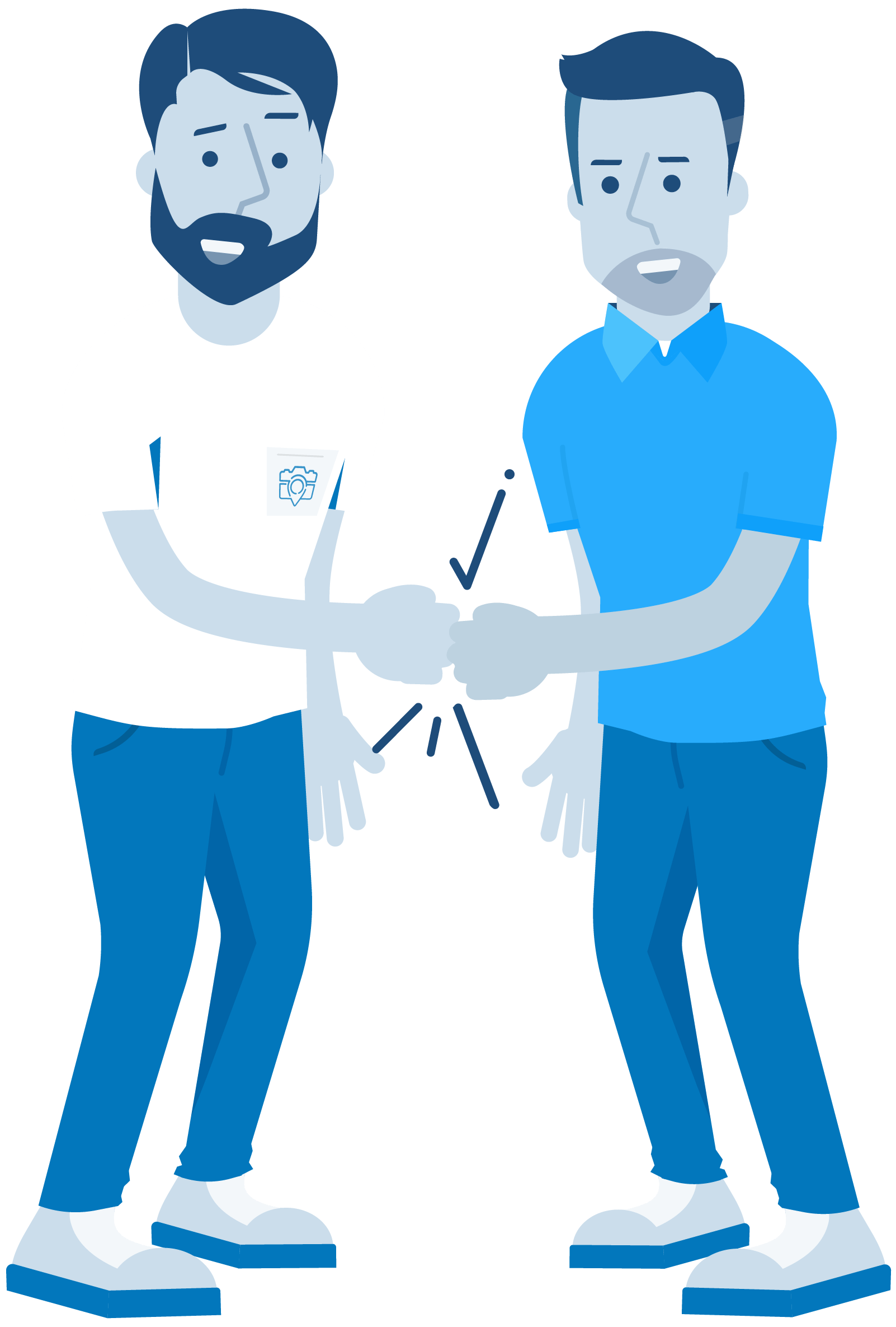 CompanyCam Parternship Illustration