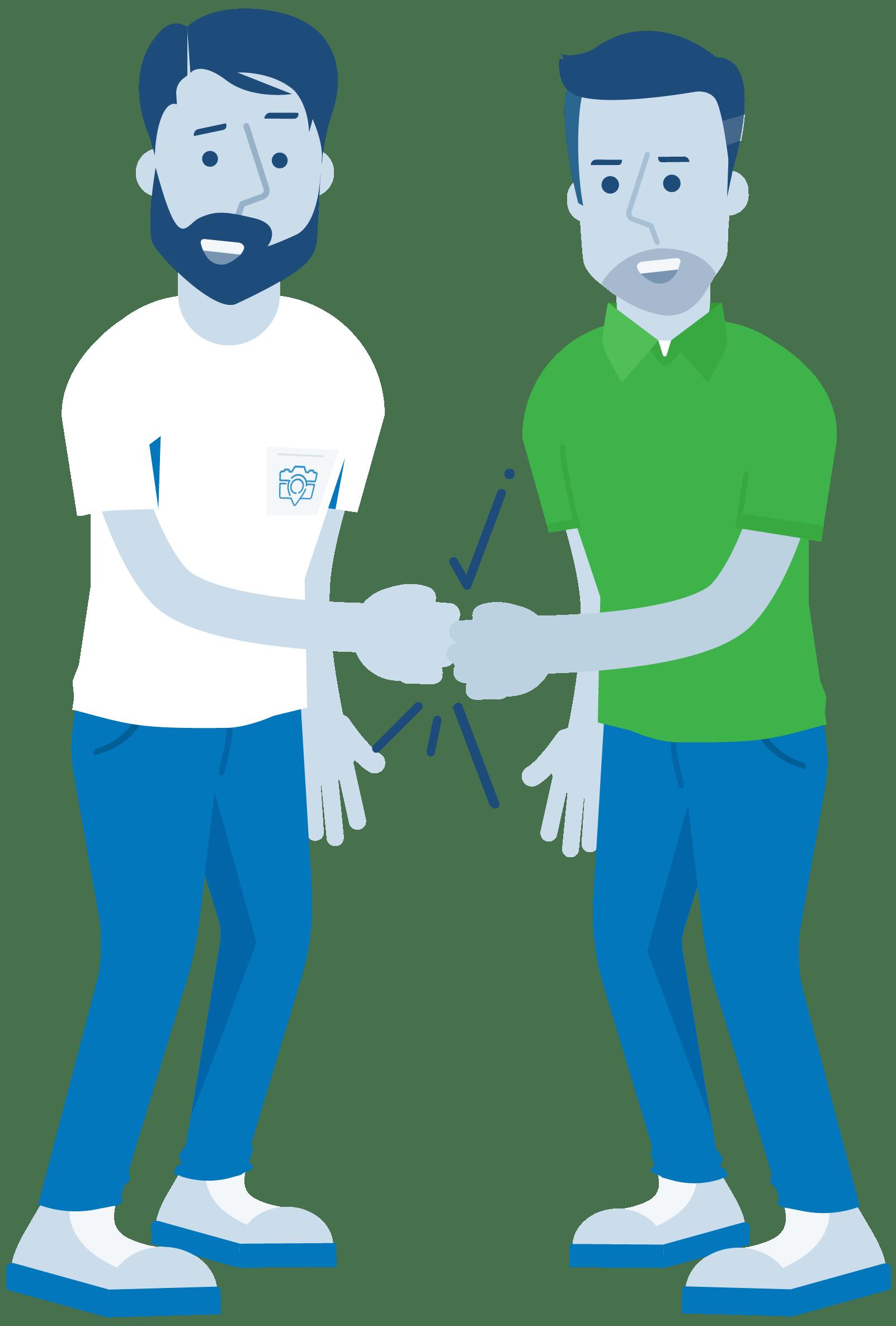 CompanyCam Parternship Illustration